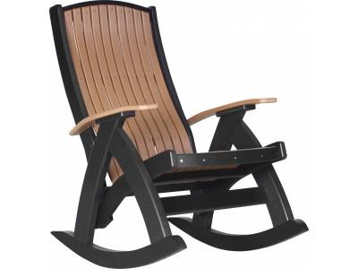 Comfort Rocker Cedar & Black