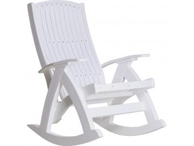 Comfort Rocker in White
